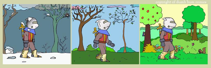 knightwalk comic 105
