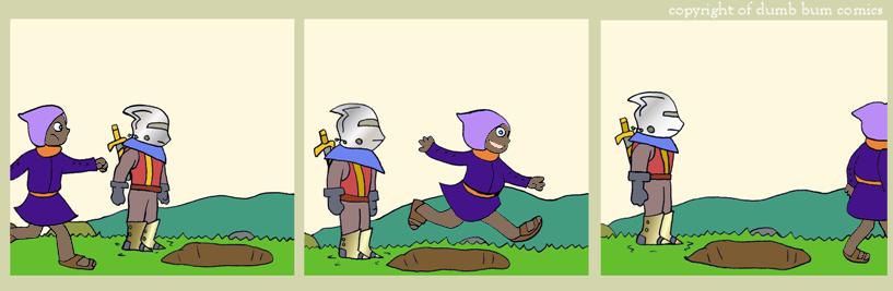 knightwalk comic 110