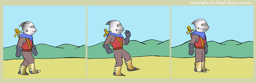 knightwalk comic 129