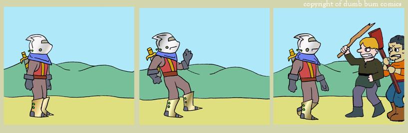 knightwalk comic 136