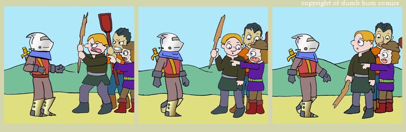 knightwalk comic 137