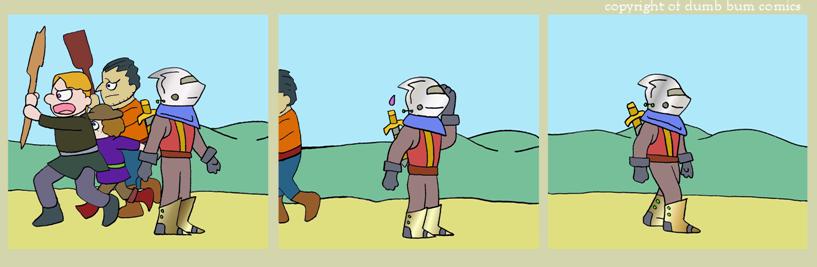 knightwalk comic 138