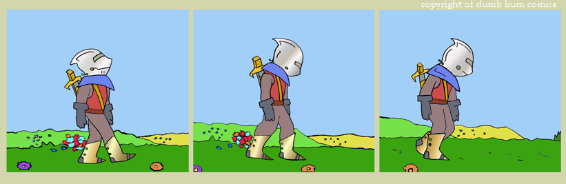 knightwalk comic 30