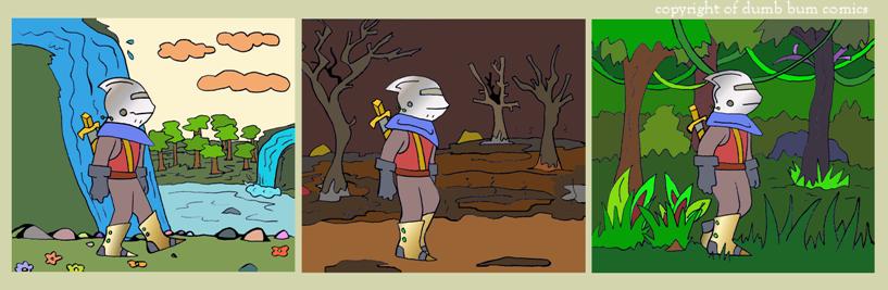 knightwalk comic 70