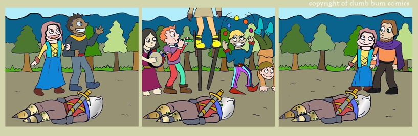 knightwalk comic 75