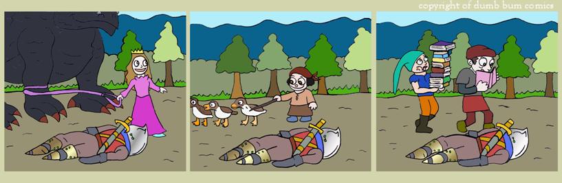 knightwalk comic 76