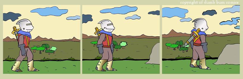 knightwalk comic 91